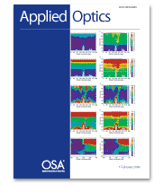 Copertina di Applied Optics