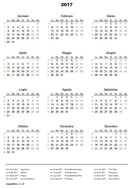 Calendar Excel Sia : Calendario con festività da stampare in excel e pdf