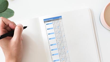 Calendario Anno 2018 Pdf.Calendario 2018 Compatto Da Stampare In Excel E Pdf Gratis